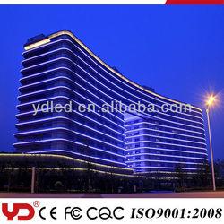 YD led building contour