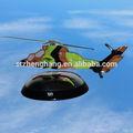 Levitación magnética flotante / Maglev Boeing AH-64 helicóptero Apache helicópteros de combate modelo, Iso 9001, Regalo de empresa, Decoración