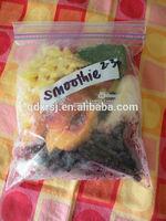 fresh fruit packing ziplock bags for extra freshness