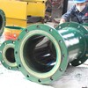 Wear resistant polyurethane pipe lining