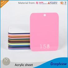 1mm-30mm cell cast pmma plexiglass acrylic