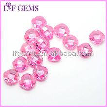 synthetic double checker board loose zirconia bead