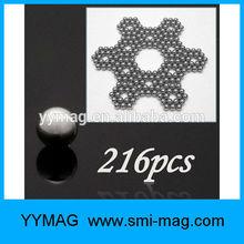 Neocube magnet 5mm 216pcs/set magnetic neodym magnet ball