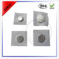nueva llegada d15x2 imán complemento botón con cubierta de plástico