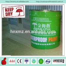 CE standard polyurethane elastomeric liquid Asphalt color coating