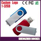 Bulk usb flash drive 1GB to 32GB, swivel USB Flash Drive