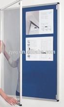 Glass door lockable show window