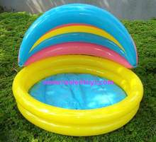 Baby Inflatable Swimming Pool Inflatable Pool with Sunshade