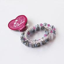2014 Alibaba china Kids fashion Korean popular charm pictures of beaded bracelets