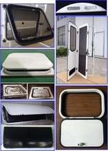 Carvan Parts: Window, door, hatch, Window protector, Roof Vent