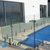 CE standard good quality pool safety fence glass cost