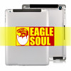 Hot Selling !!! For The New iPad 3 Back Cover Housing Replacement