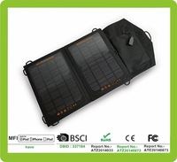 2014 new Solar pack charge price per watt 130w solar panel for iPhone and iPad directly under the sunshine