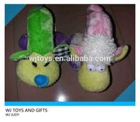 glow cheap dog pillow plush pet toy