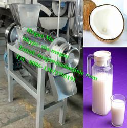 commercial coconut milk press machine/coconut milk extractor machine/coconut milk making machine