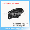 Professional Customized Auto Parts Rubber Engine Mount For Honda 50810-SEL-T81