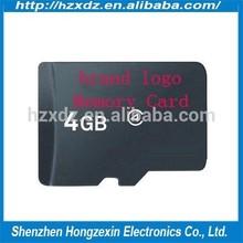 Bulk memory sd card 4gb full capacity and high speed +free adapter