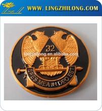 Scottish Rite 32nd Degree Eagle Mason Car Emblem