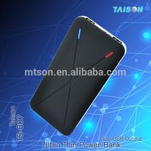mobile power bank 5500mah slim portable charger