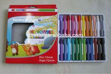 Color Oil pastel pencil for School
