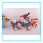 New Popular Cheap Fashion 3D Children Intellective Dragon Pattern Cartoon Paper Puzzle