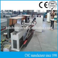 cnc wood baluster turning machine