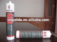 Clear /silver gray /ceramic white acetoxy silicone sealant in 300ml