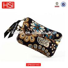 Amaretto Quilted Cotton Gadget Pouch Bag Clutch bag Card bag Wallet