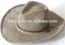 seagrass cowboy hat for men