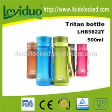 Customized logo plastic sports BPA free water bottle