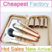 Promotional Convenient Mirror Brush Make Up with Cosmetic Brush Make Up