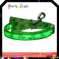Lighting up dog leash Novely design lead leash new listed 2014