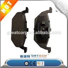 European quality brake parts, skoda brake pads 6R0698151A