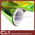 Green pvc sticker 1.52X30M chrome film for car wrapping