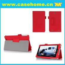 China leather case manufacture leather cover cases for acer iconia a1-810