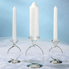 White Palm Wax Candle Set