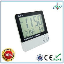 Clock thermo hygrometer & alarm with temperature humidity meter&Be exported to 95 countries TL8001B