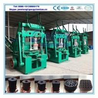 Reliable quality bbq coal making machine briquette charcoal machine