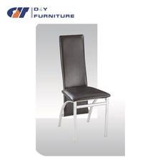 High back chair high grade hot sales chromed chair