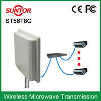 5.8Ghz waterproof microwave 5km wireless remote video