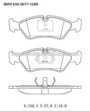 Whosale Brake Pads For BMW E10 OE:34111100736,34111160, MDB1002, DB35, 221506