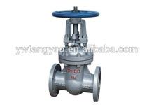 PN16 casting carbon steel stem gate valve