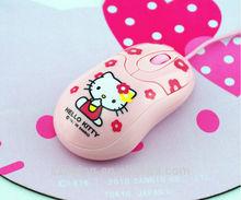 Fresh design OEM service hello kitty optical gift mouse