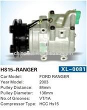 HCC HS-15 HS15 auto ac a/c compressor FORD RANGER MAZDA B2500 B2900 1pk UH8161450 UH81-61-450 3645825