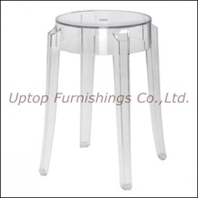 Modern transparent crystal restaurant stool (SP-AC118)