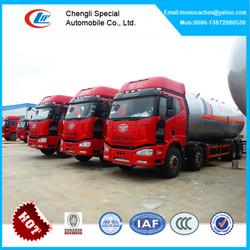 34.5cbm lpg filling truck,lpg tank truck,lpg road tanker truck of FAW