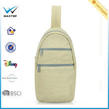 2014 wholesale waterproof sling bag, sling backpack