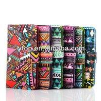 2014 new design abaya patterns wallet for Samusng S5