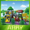 Updated ARKY Tree house series outdoor plastic slide/play ground outside/new style and design of children playground