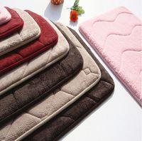 animal bath mat fur floor mat/Memory foam bath mat_ Qinyi